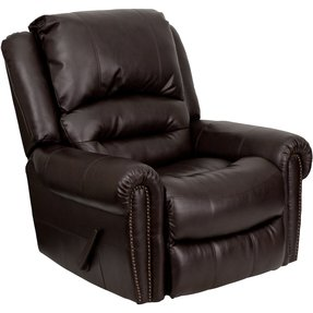 Leather Wide Arm Chair Foter