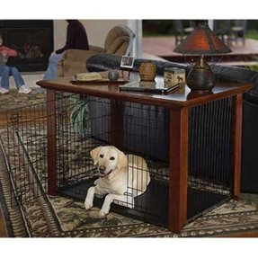 Four legged favorites classic heritage wood crate cover