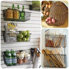 Wire Fruit Basket - Foter