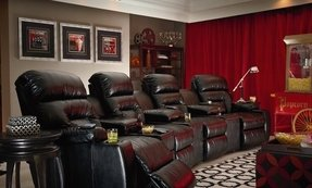 Home theater sectionals 2