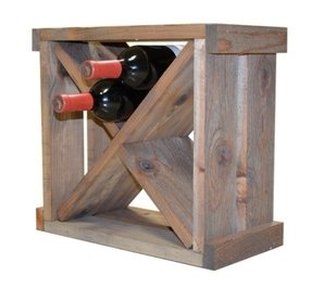 How to build a wine rack cube