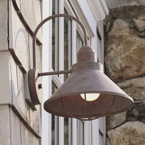 Large outdoor wall lights 6