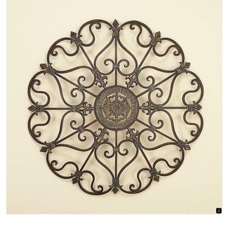 Large Round Metal Wall Art Ideas On Foter