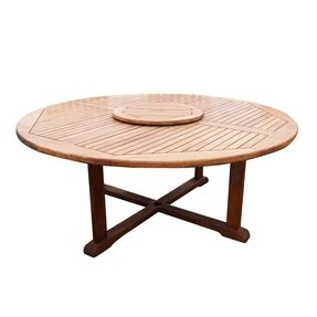 Large Round Outdoor Dining Table 1