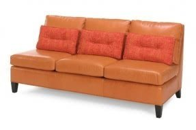 Armless Leather Sofa - Ideas on Foter