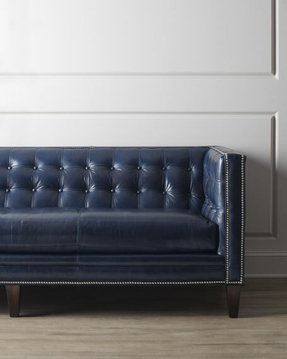 Leather sofa nailhead trim 3