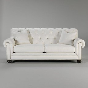 Leather sofas with nailhead trim 1