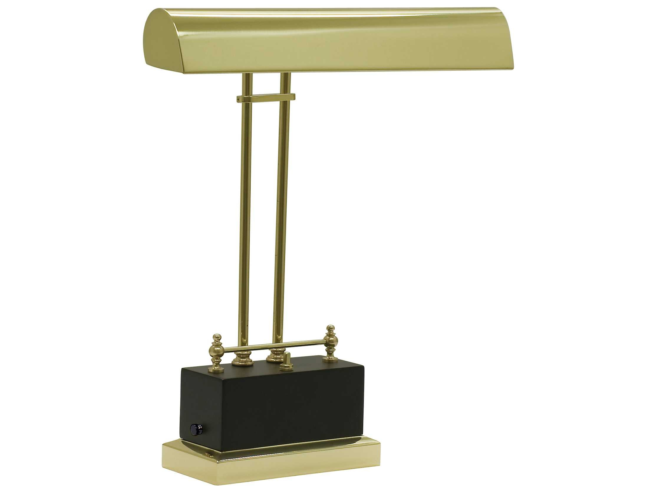 "LED Battery Operated Piano / Desk 14"" H Table Lamp"