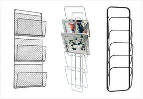 Wall Mounted Metal Magazine Rack Ideas On Foter