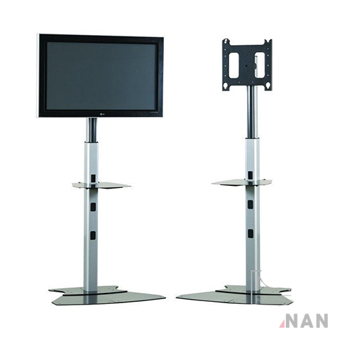 "Mobile Carts, Stands & Accessories Tilt Floor Stand Mount for up to 65"" Flat Panel Screens"