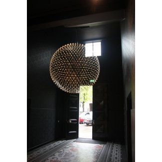 Large globe pendant light foter oversized pendant light aloadofball Choice Image