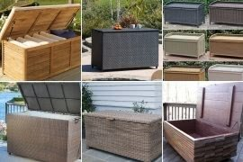 Patio Furniture Cushion Storage Boxes