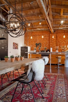 Industrial Style Dining Table Foter
