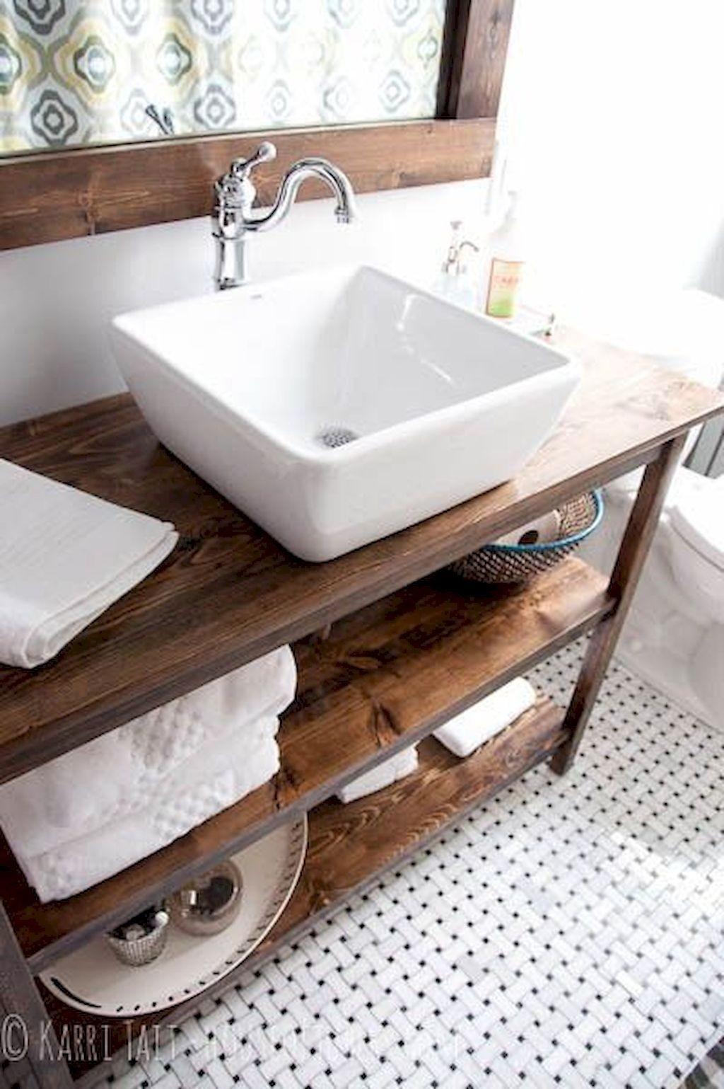 Rustic Vessel Sinks