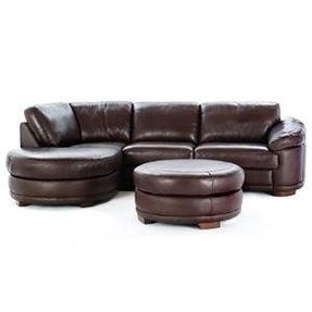 Small round sectional sofa 1