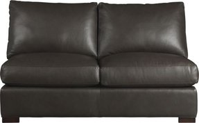 Stacey leather sectional