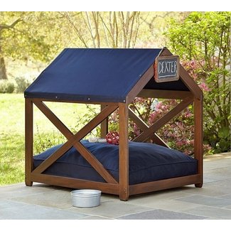 Sunbrella dog house frame cover