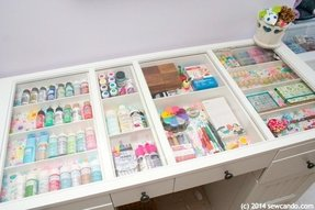 Table top storage 7