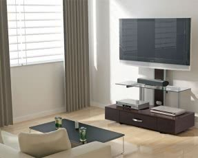 Tv stands with integrated mount 7