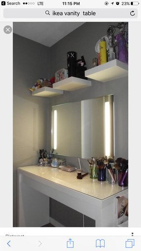 makeup vanity table with lights foter 14448 | vanities for bedroom with lights s pi