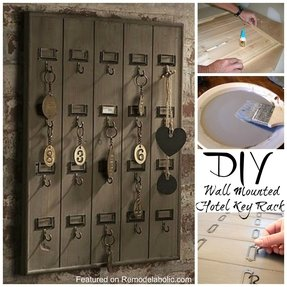 Wall key organizer