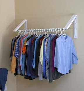 Wall Mounted Hanging Rack Foter