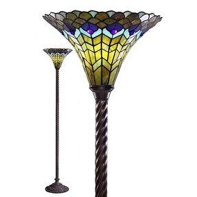 Peacock Floor Lamp Torchiere Floor Lamp Foter