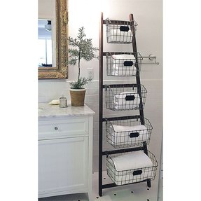 What to put in decorative baskets