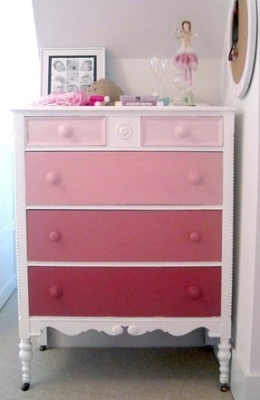 Girls White Chest Of Drawers - Foter