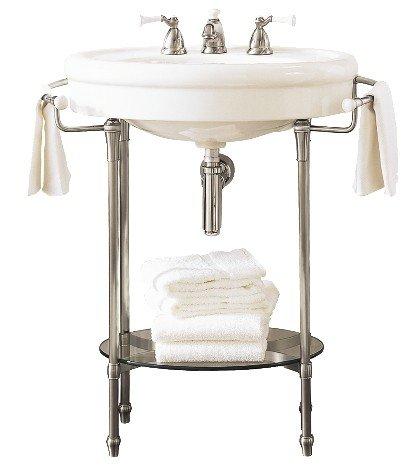 Wide Pedestal Sink Bases Pedestal Sink Console Foter