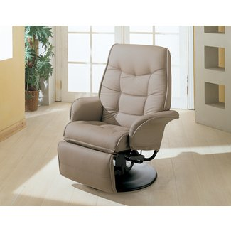 Wildon home c2 ae conroy leatherette ergonomic recliner 2