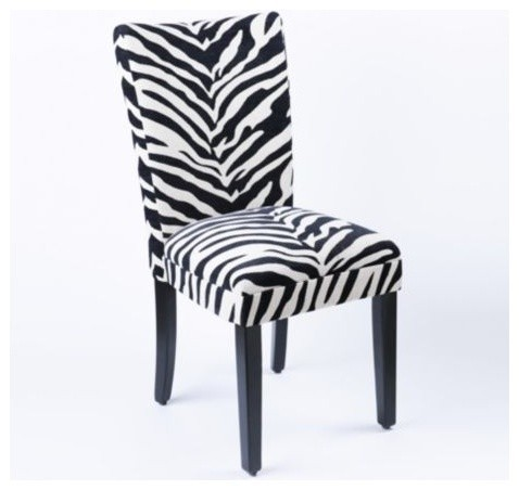 Superieur Animal Print Dining Chairs