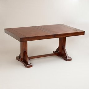 Antique Dining Table With Hidden Leaves