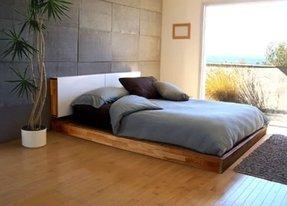 Simple Platform Beds