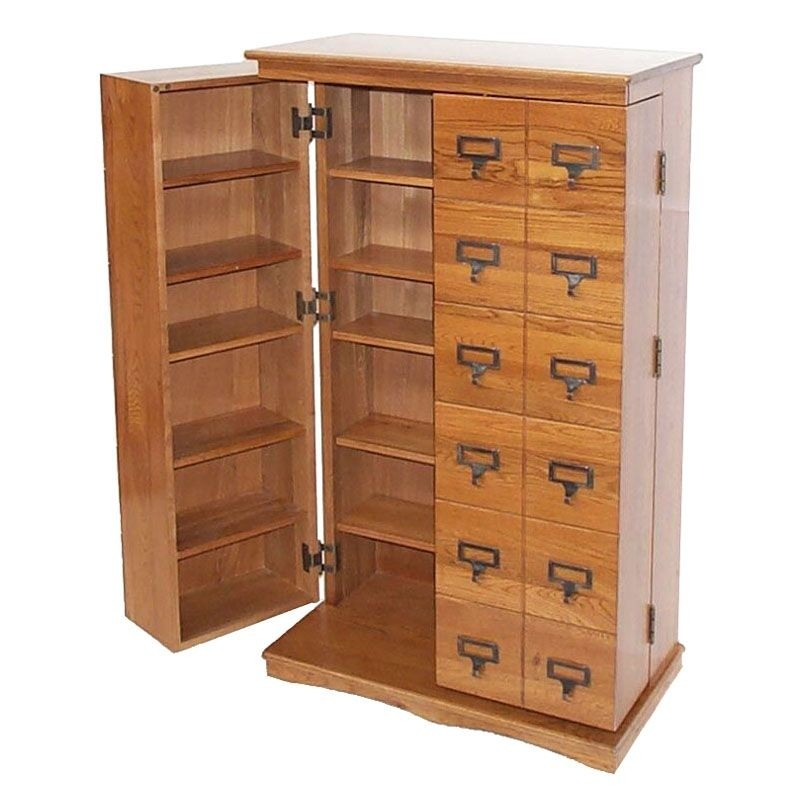 Cd Storage Cabinet With Doors