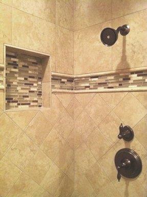 Bathroom Travertine Tile Designs