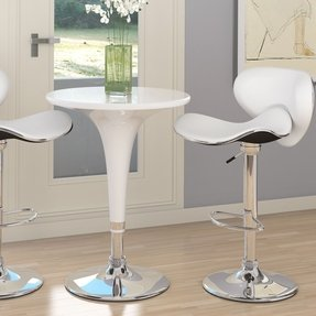 Bar height table chairs foter corliving t 411 bad adjustable height bar table white gloss watchthetrailerfo