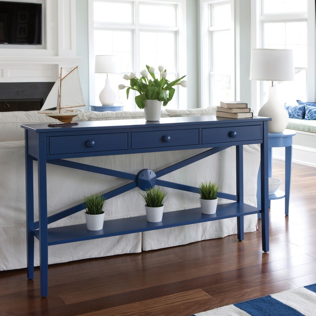 Beau Cottage Console Table 1