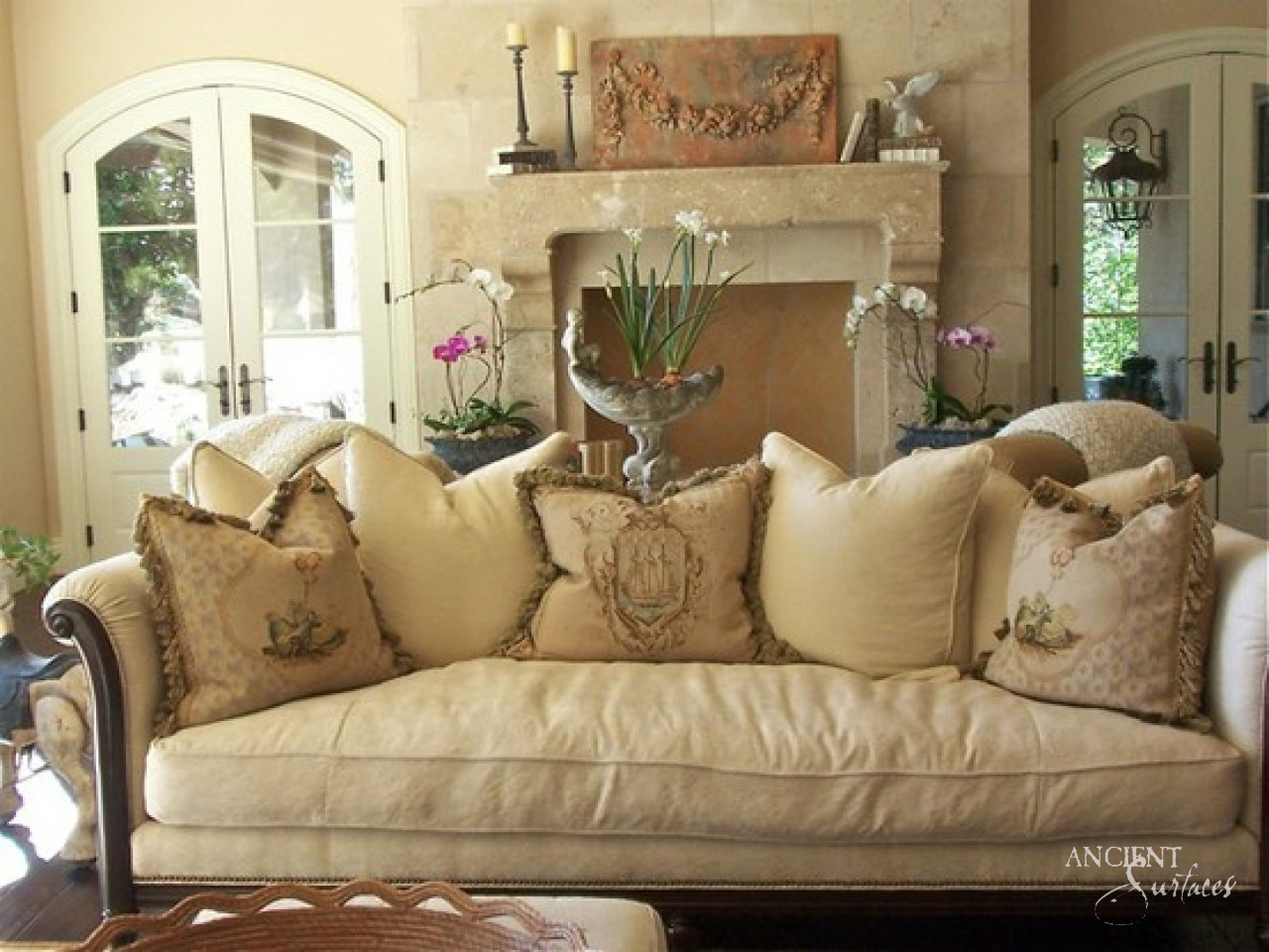 Down Filled Decorative Pillows 1