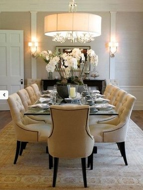 Fancy dining room chairs