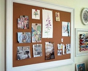 Framed bulletin boards