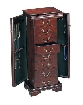 Furniture jewelry armoire