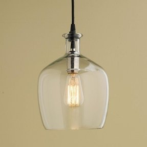 Glass pendant lighting for kitchen