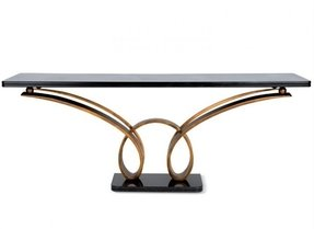 Granite top console table 1