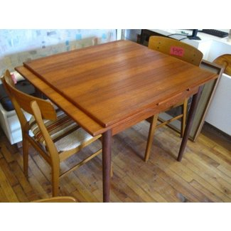 Hidden Leaf Dining Table Foter