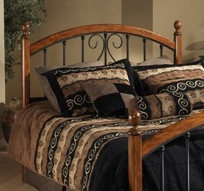 Metal And Wood Bedroom Sets Foter