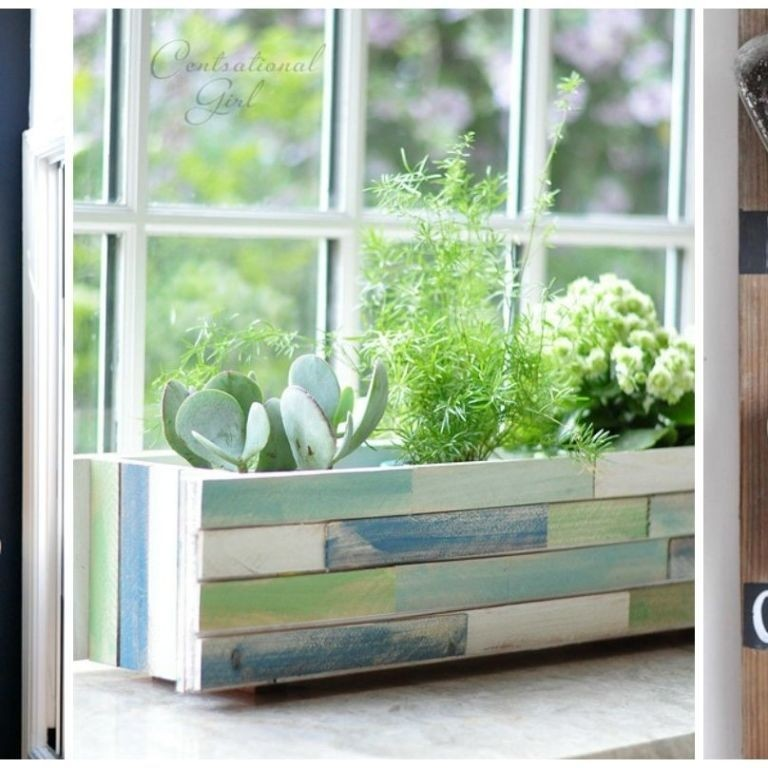 Indoor planter box 2