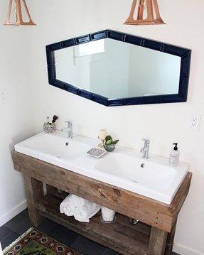 Rustic Bath Vanity Ideas On Foter