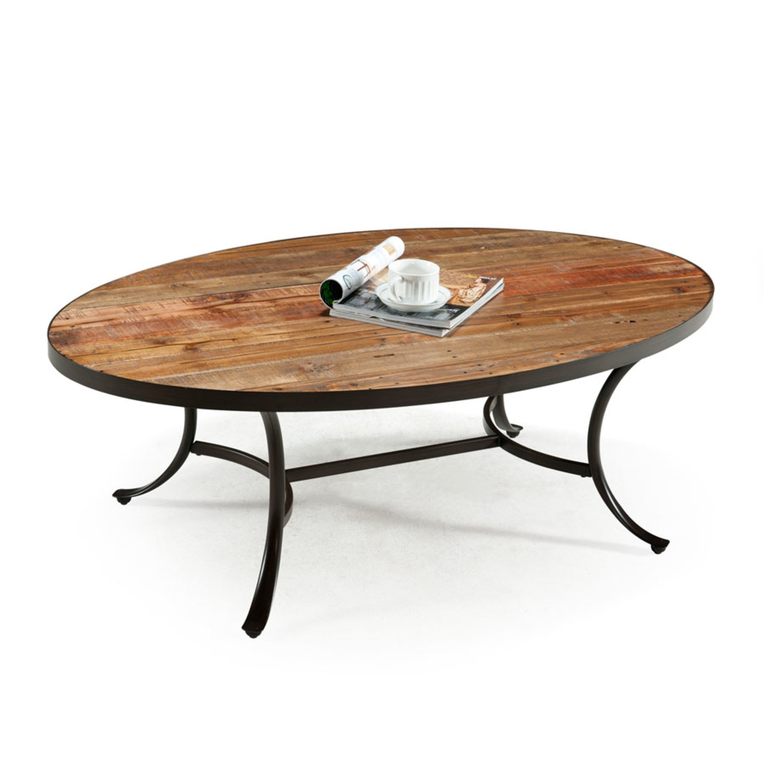 Merveilleux Iron Wood Coffee Table
