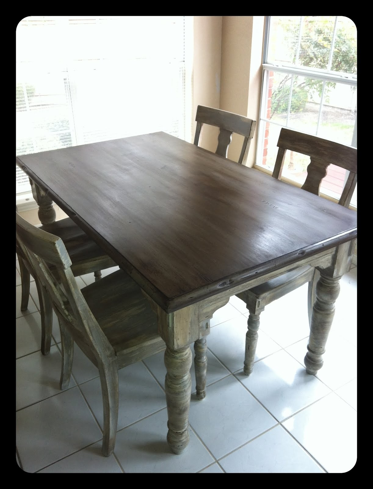 Kitchen Table Paint Ideas